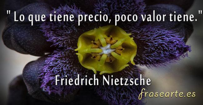 El valor de las cosas, Friedrich Nietzsche