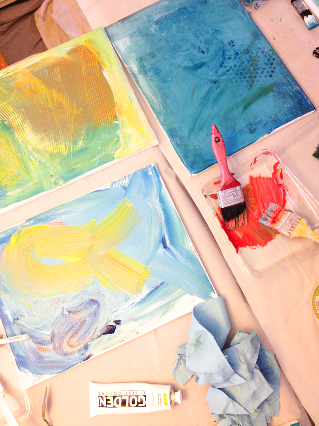 Creating Art as a Family