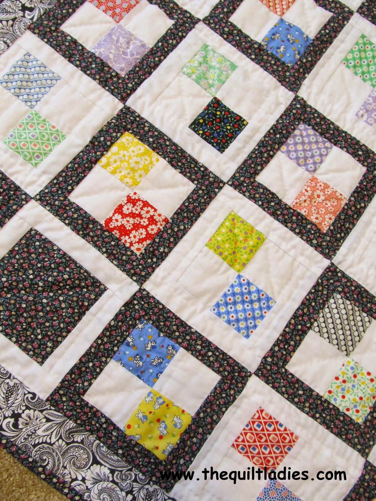 4-patch quilt block quilt pattern