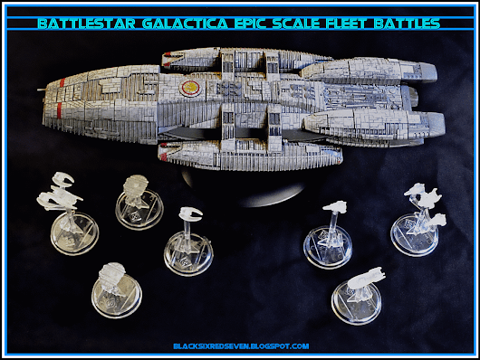 BSG SHAPEWAYS SQUADRONS & SMALL SHIPS - EPIC SCALE GAMES!
