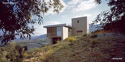 Casa contemporánea de veraneo en Grecia