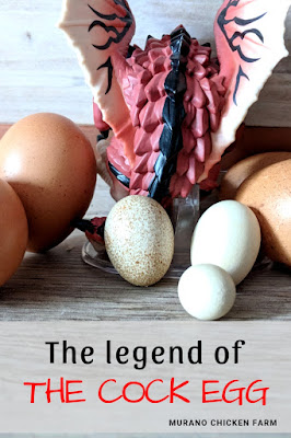 Legend of the cock egg