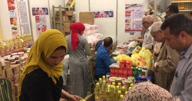 افتتاح معارض أهلا رمضان بمحافظة القاهرة لبيع السلع بأسعار تنافسية