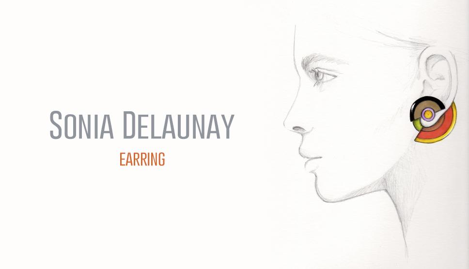 sonia delaunay earring