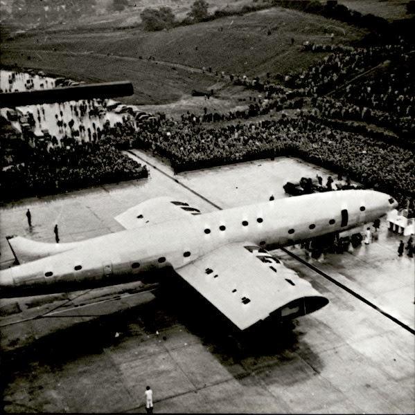 El avión gigante Bristol Brabazon