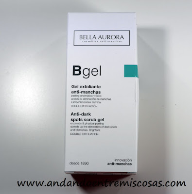 Gel Exfoliante Anti-Manchas de Bella Aurora