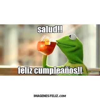 Imágenes Feliz Cumpleaños Graciosas Chistosas meme memes gratis divertidos para grupos de Whatsapp