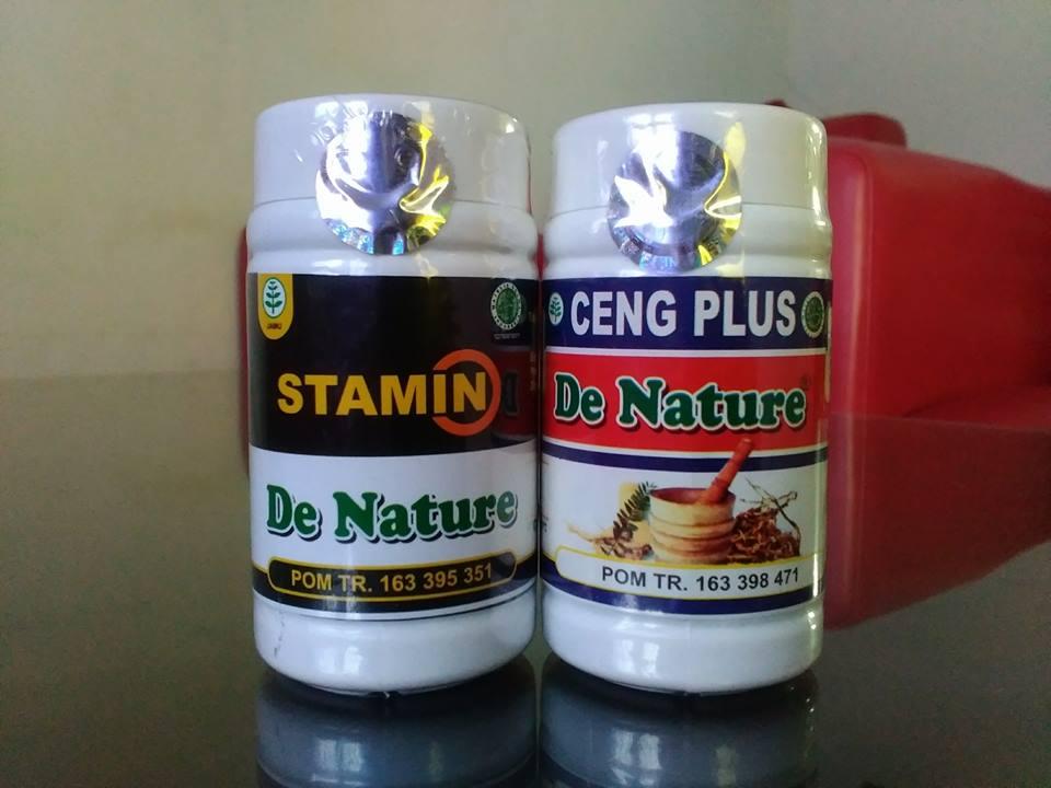 Kapsul Ceng Plus dan Stamin Obat de Nature