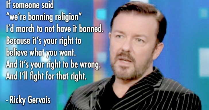 Slavenka Amp Obi Ricky Gervais Quot It S Your Right To Be Wrong Quot