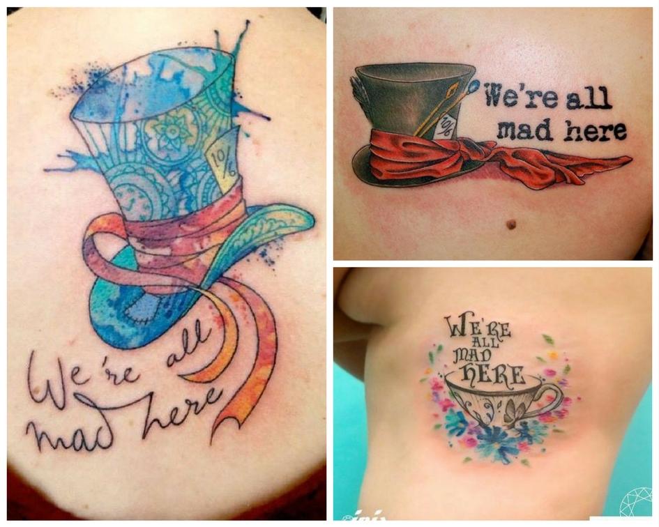 48 Tatuagens Inspiradas Em Alice No País Das Maravilhas Blog