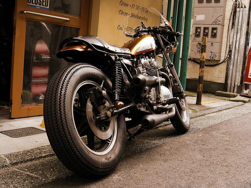 XS650 by M/C Upper :: via Inazuma Cafe