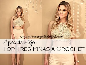 Cropped Top tejido con ganchillo / Tutoriales
