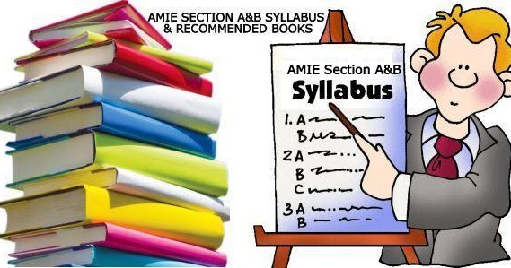 AMIE Study Tips: AMIE Section A & B, List Of Subjects ...