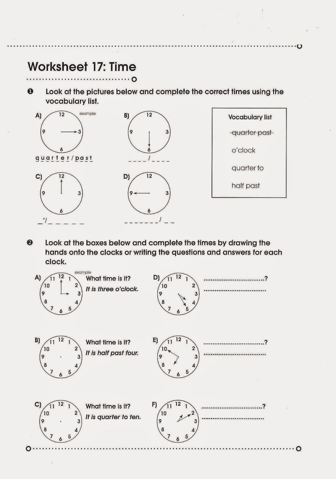 Let S Learn English What Time Is It
