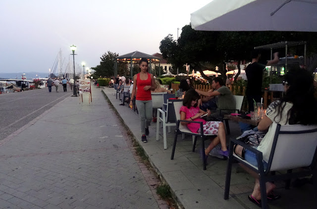 Harbour boulevard of Preveza