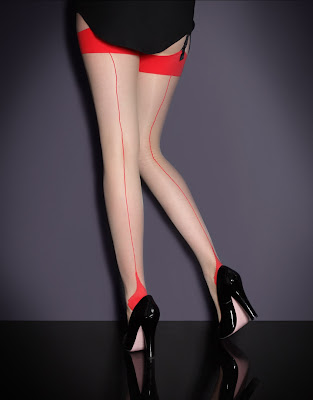 Agent Provocateur Seem & Heel Stretch Stockings