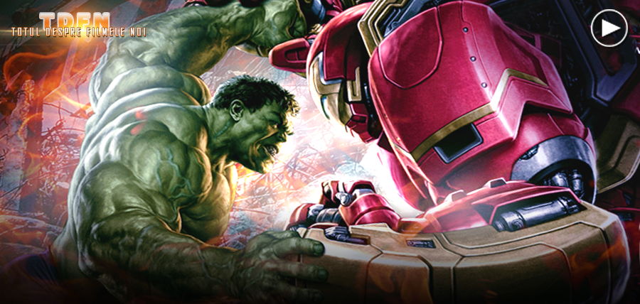 HULK vs. IRON MAN în noul clip Avengers: Age Of Ultron