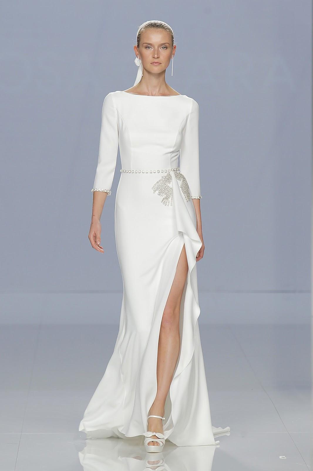 vestido de noiva 2018 discreto