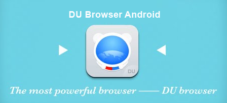 Download DU Browser Apk Latest Version