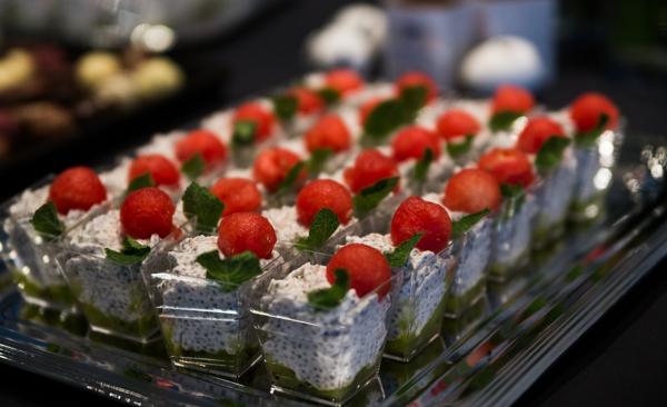 chiansiemen vanukas kivi helppo jälkiruoka hedelmistä