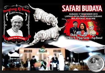 Dangiang Ki Sunda, H. Dedi Mulyadi di Pamanukan, Subang
