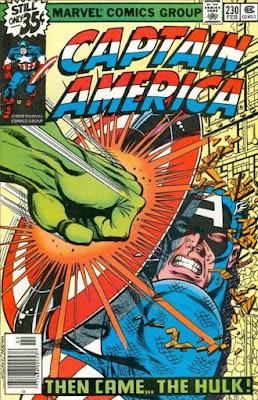 Captain America #230, the Hulk