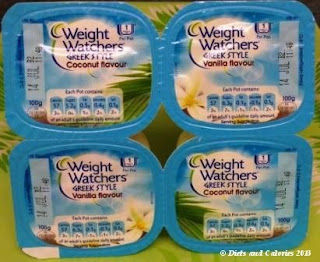 Weight Watchers Fat Free Coconut fromage frais and vanilla
