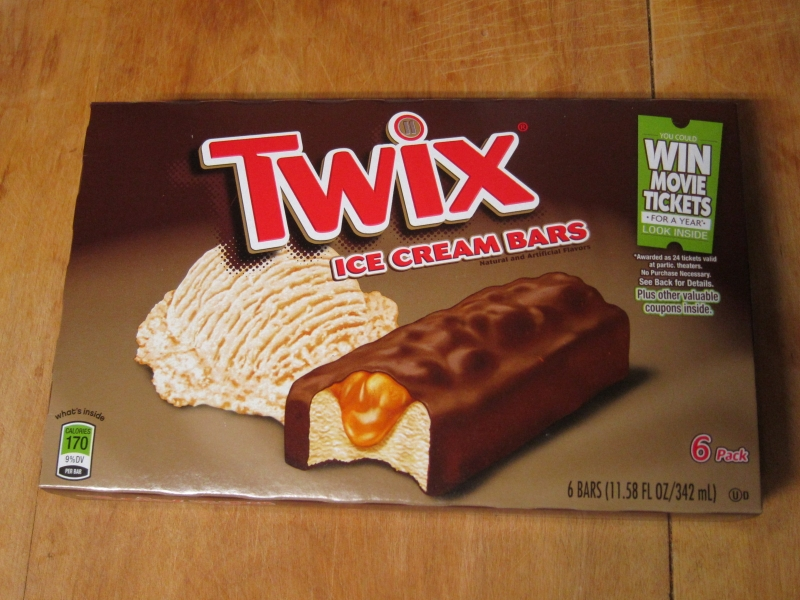 Review twix ice cream bars brand eating review twix ice cream bars ccuart Image collections