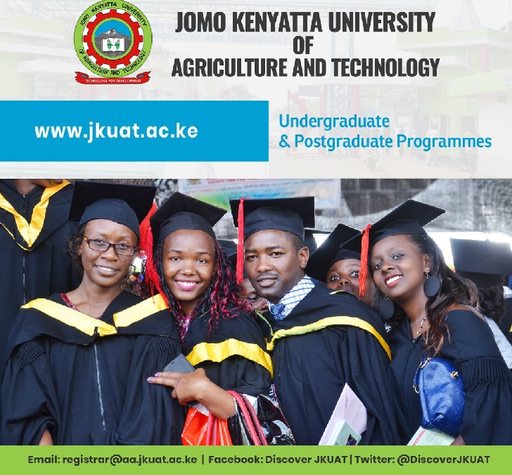 JKUAT UNDERGRADUATE ACADEMIC PROGRAMMES 2019 FOR JANUARY, MAY AND SEPTEMBER INTAKES