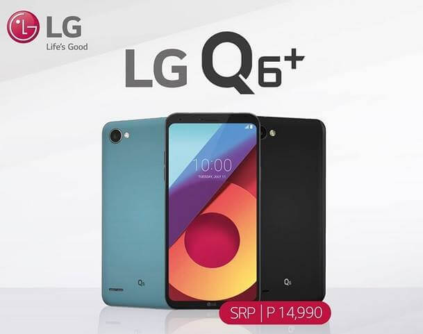 LG Q6+ Now Official for Php14,990; 18:9 screen, 4GB RAM and 64GB ROM