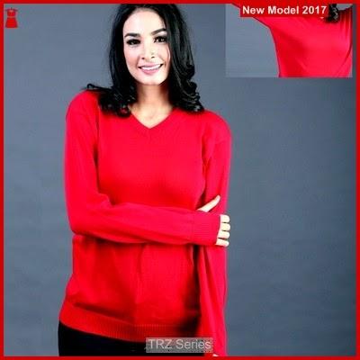 TRZ73 Sweater King Wanita Red 005 Murah