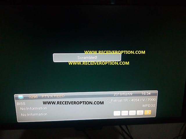 ECHOLINK 6262 PATREN HD RECEIVER OLD MODEL BISS KEY OPTION