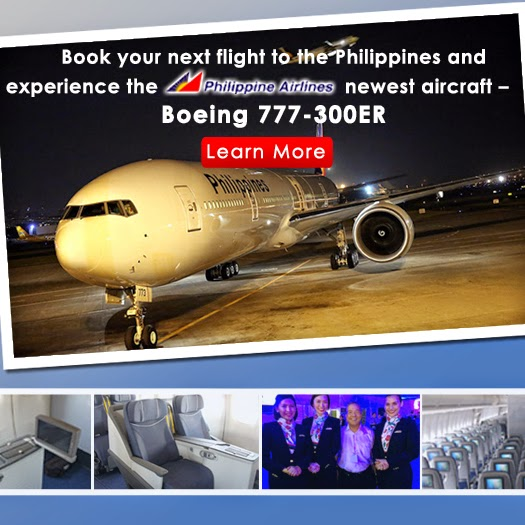 Mango Tours new aircraft -- Philippine Airlines B777-300ER