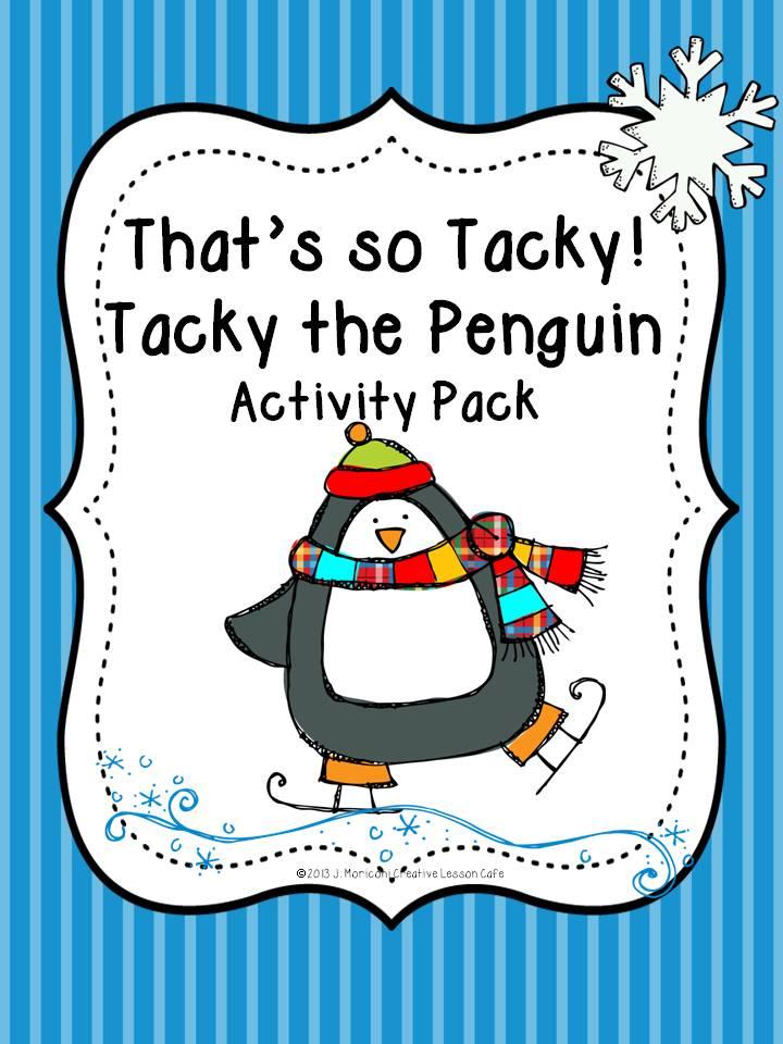 Printable Worksheets tacky the penguin worksheets : Creative Lesson Cafe: Tacky the Penguin and a Tacky Freebie