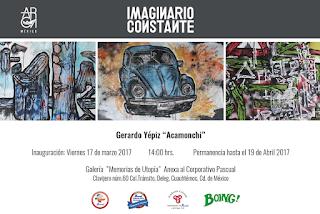 Exposición de Acamonchi Imaginario Constante