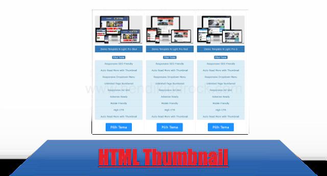 Cara Membuat Gambar Thumbnail Di Blogger Blogspot