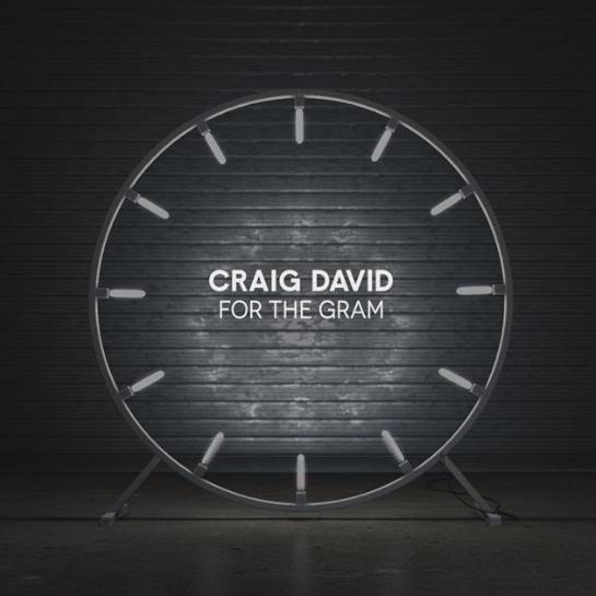 Craig David - For the Gram - Single Cover