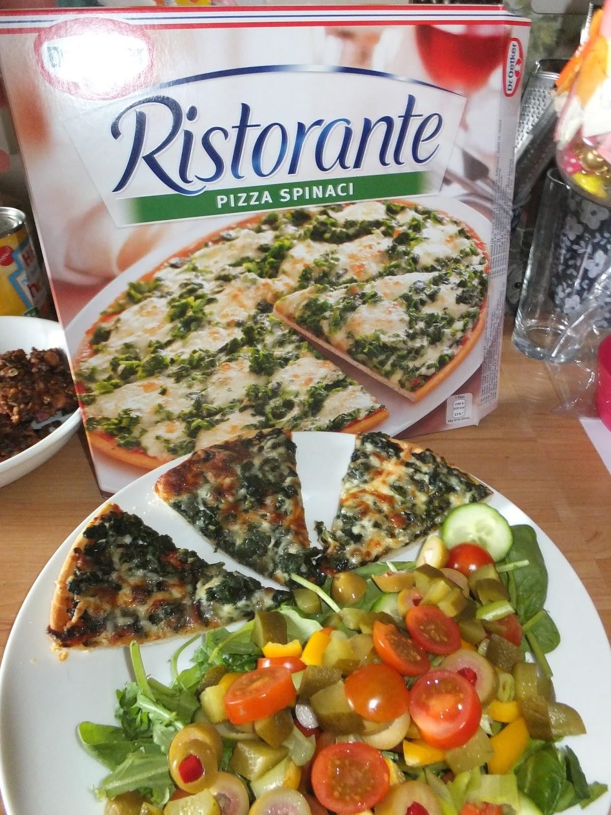 review pizza spinaci by dr oetker ristorante spinaciisback. Black Bedroom Furniture Sets. Home Design Ideas