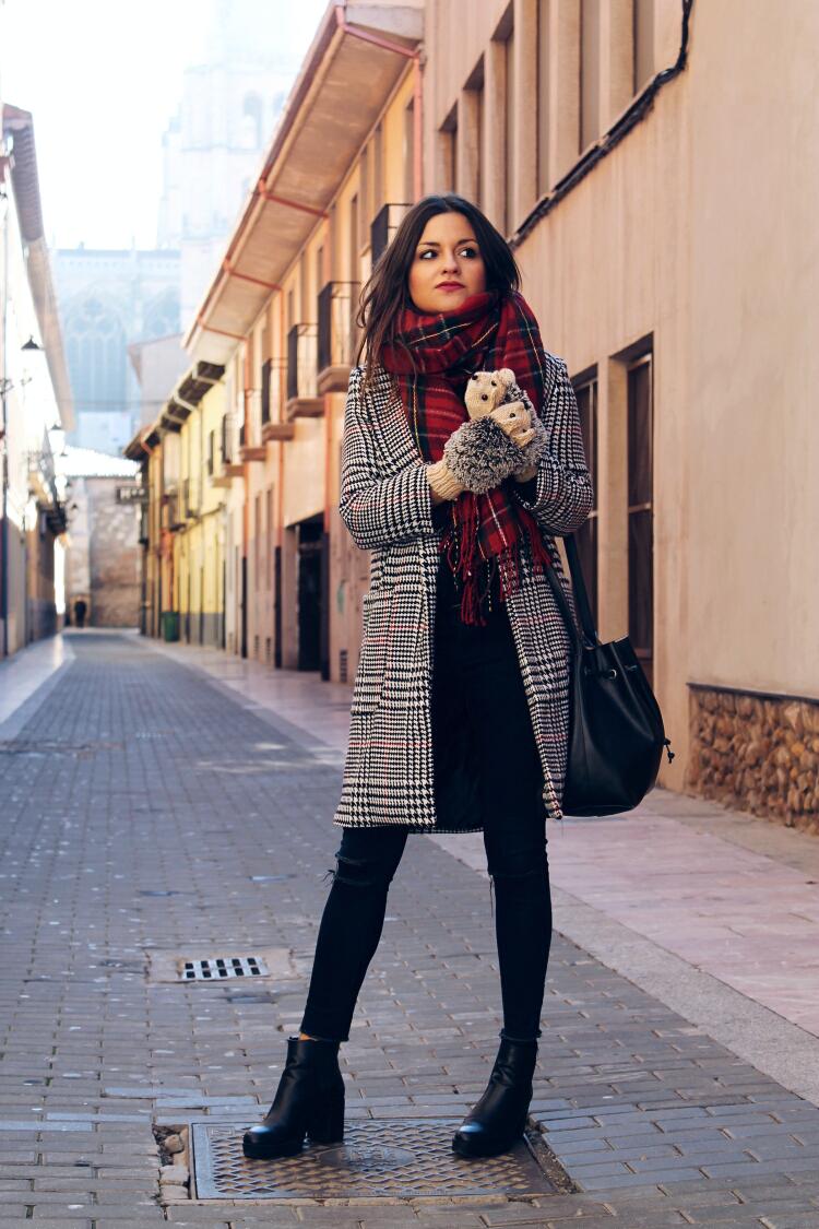 tartan-bufanda-manoplas-erizo-blog-de-moda-leon