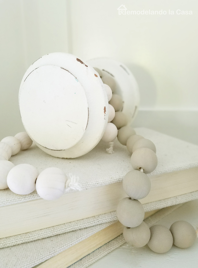 mantel decor, fall, white, neutral