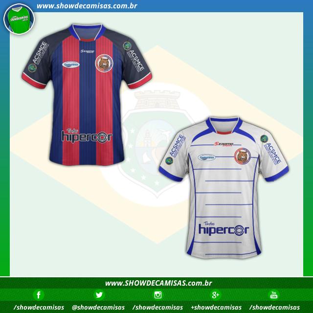 ee618c2b1b6bd Seromo Sports apresenta as novas camisas do Tiradentes. A fabricante de material  esportivo Seromo Sports divulgou ...