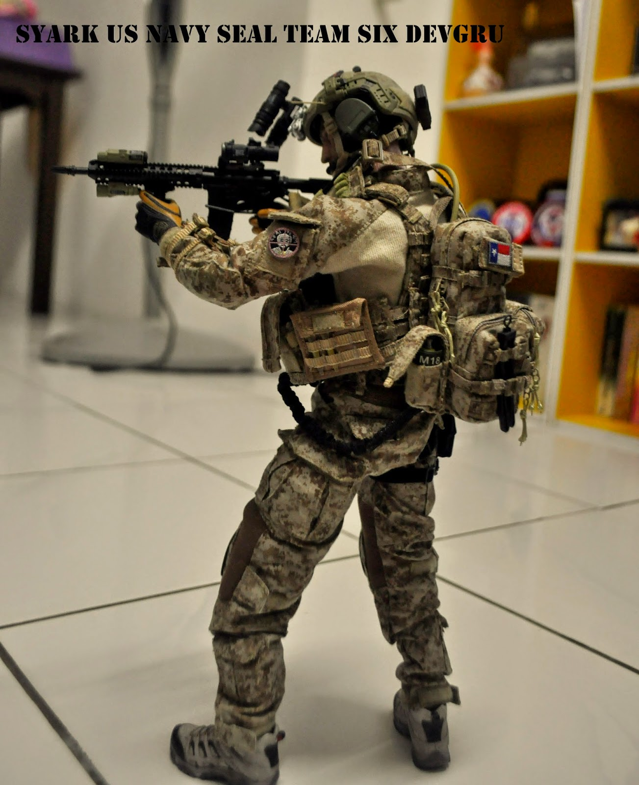 Syark Military Personal - 1/6 Toys City JSOC T1 SPECIAL MISSION UNIT