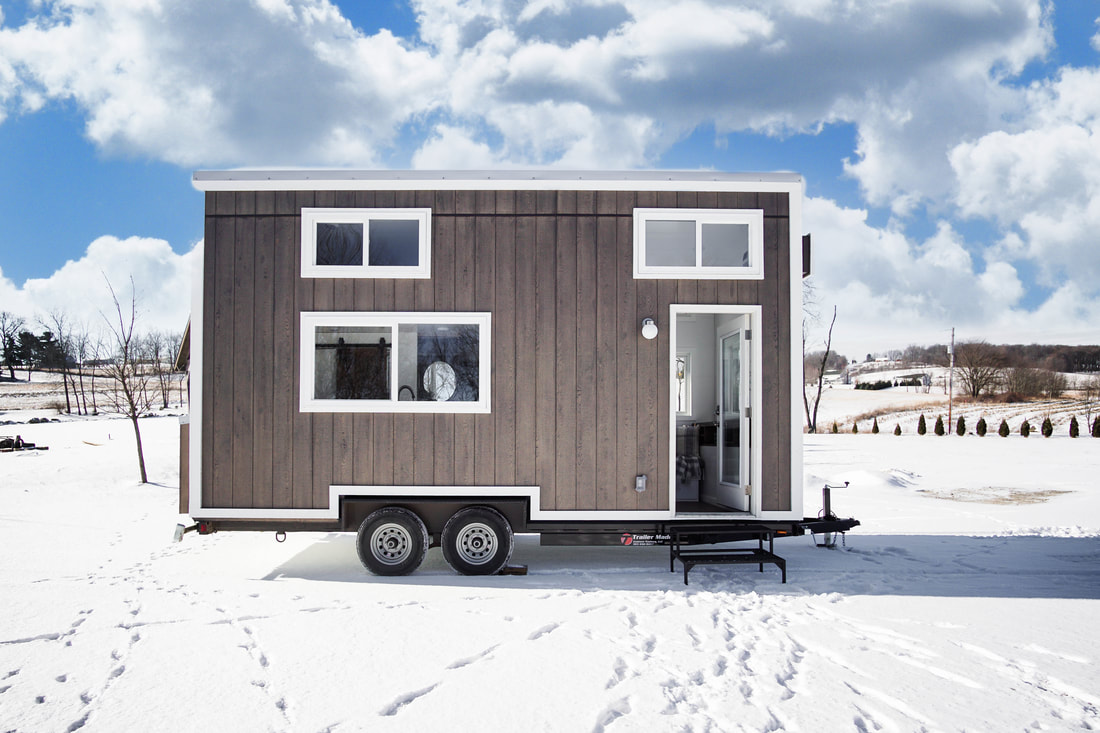 Tiny Home Designs: TINY HOUSE TOWN: The Cocoa From Modern Tiny Living