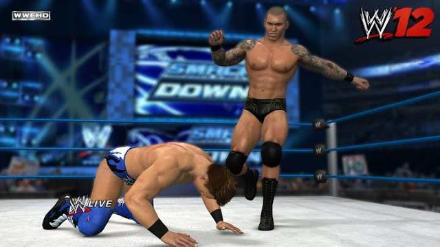 WWE 12 Game Play