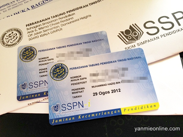 SSPN-i Card is provided once registered