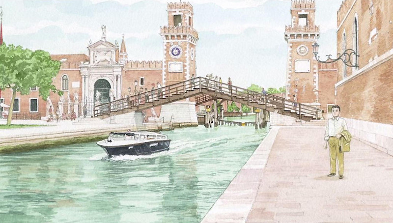 Venice,by  Jiro Taniguchi.