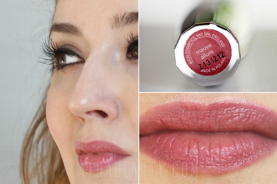 Avon • Idealny Pocałunek • Mauve Allure