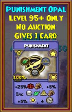 Punishment - Wizard101 Card-Giving Jewel Guide