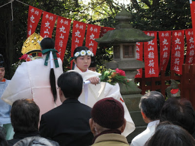 丸山稲荷社の初午祭