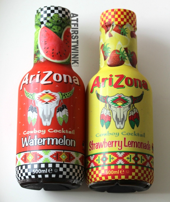 Review: AriZona Cowboy Cocktail Watermelon and Strawberry Lemonade